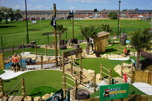 Pirate Adventure Golf, Hull