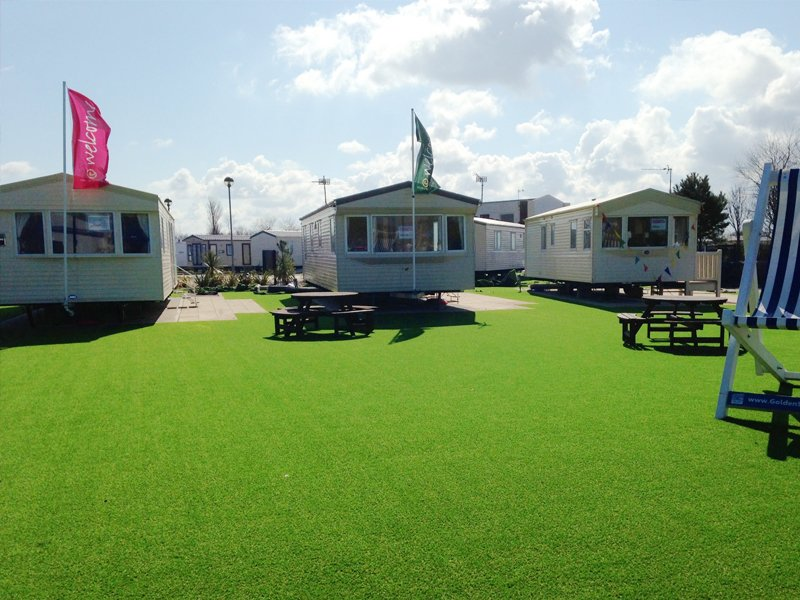 Artificial grass used by Haven