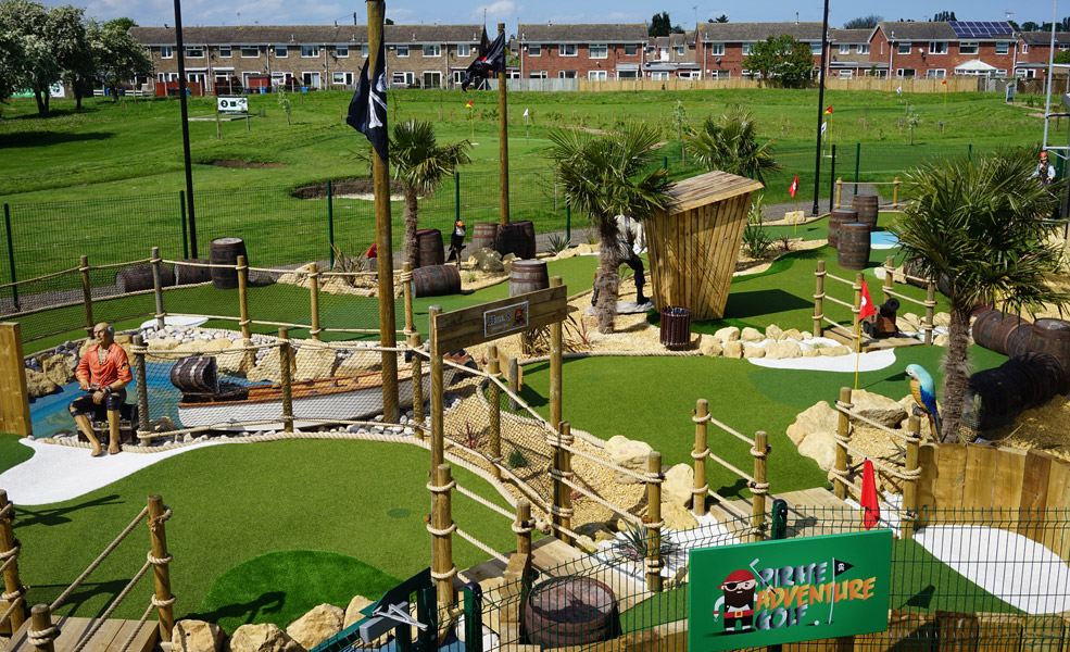 Adventure golf pirate two